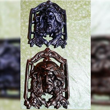 Cristo de yeso - Artesanías Maroy