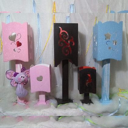 Lámparas para niños MDF - Sofía artesanías