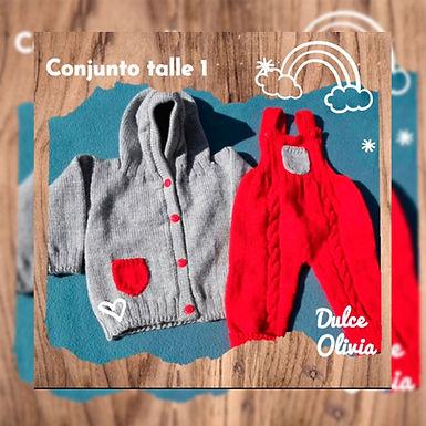 Conjuntos tejidos - Dulce Olivia