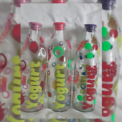 Botella 1 l.  - Reciclar-Reutilizar