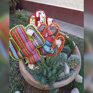 Almohadón cactus - Con el alma en un hilo