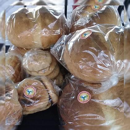 Pan casero en horno de barro - Inesita