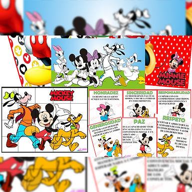 Jugando con Mickey Mouse - Ediciones JD