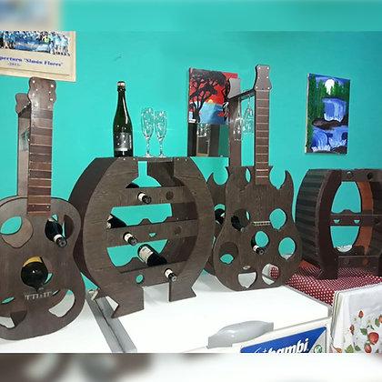 Porta vinos - Artesanías Iglesianas