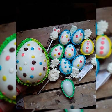 Huevos de Pascua - grandes - Nuny Panadería Artesanal