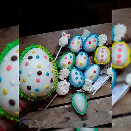 Huevos de pascua chicos - Nuny Panadería Artesanal
