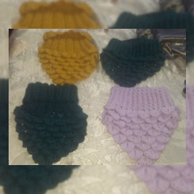 Cuellos al crochet - Mariangel Tejidos
