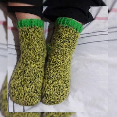 Medias a crochet - Mariangel Tejidos