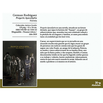 Proyecto Apocaliptia - Abdulah Libros