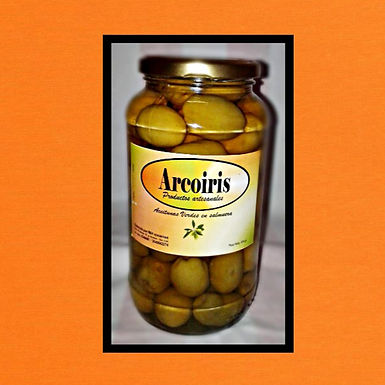 Aceitunas en salmuera al natural n°1 - 1 kg. - Arcoiris