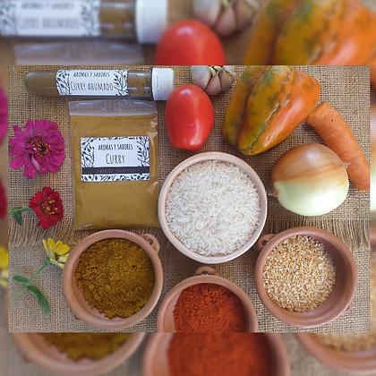 Curry - Curry ahumado - Aromas y Sabores