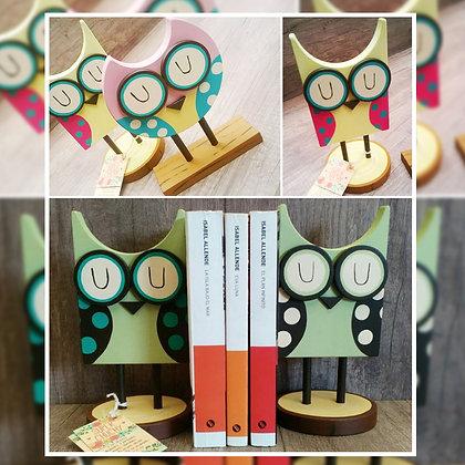 Buhos sujeta libros - Super Chuchy