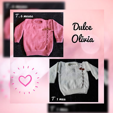 Sweater tejidos - Dulce Olivia