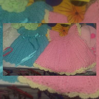 Vestidos de bebé - Mariangel Tejidos