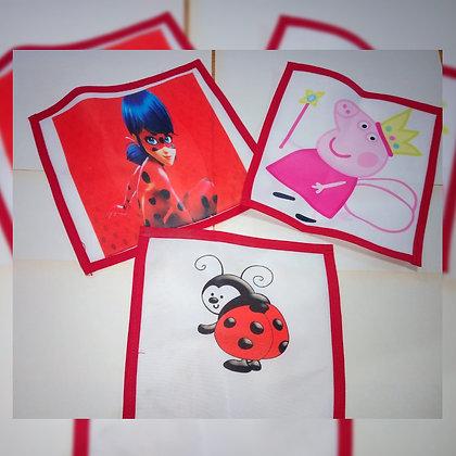 Servilletas infantiles - Cuatro Remos Sublimados