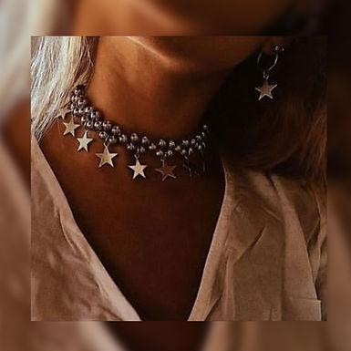 Gargantillas Stars - Xoxo Acccesorios