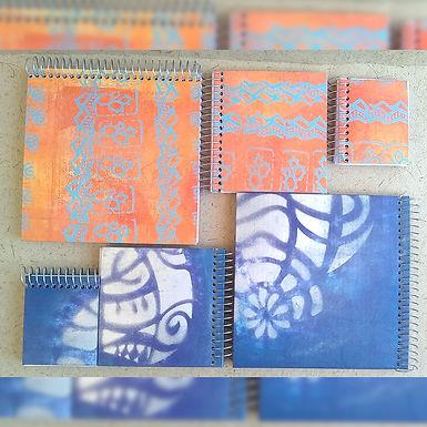 Cuadernos - Formato cuadrado – Grande- CieloAlto arte en papel