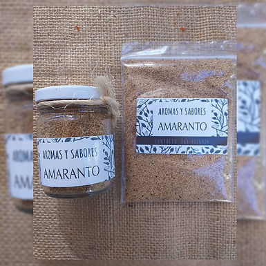 Amaranto - Aromas y Sabores