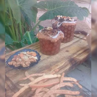 Pan dulce vegano - Pampa Vieja