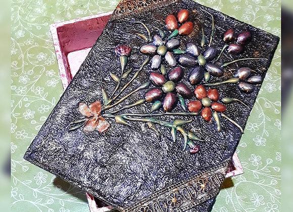 Caja Madera artesanal - Artesanías Maroy