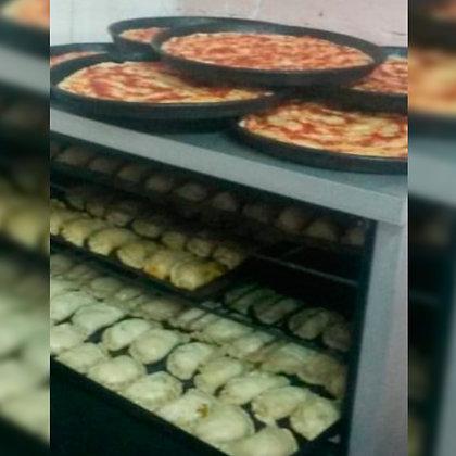Pizzetas chicas  - Nuny Panadería Artesanal