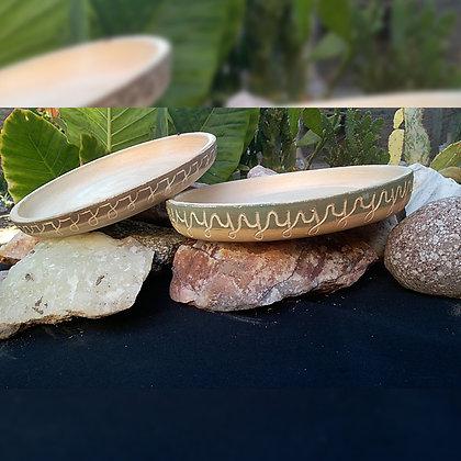 Platos 17 cm cerámica - Ibis Alfarería & Piedra