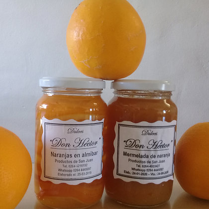 Mermelada de Naranja - Dulces y Conservas Don Héctor