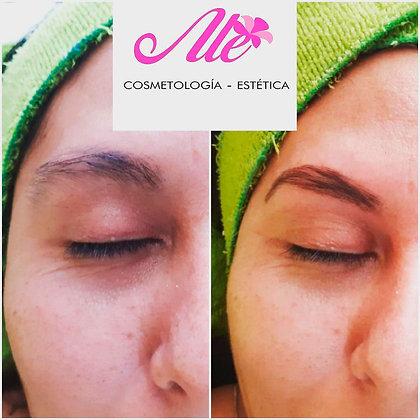 Alisado, diseño y tinte de cejas - Ale Cosmetología y Estética