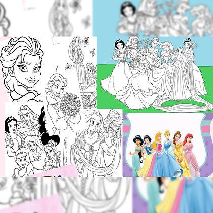 Jugando con mis princesas - Ediciones JD