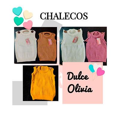 Chalecos - Dulce Olivia