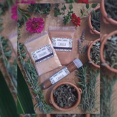 Canela molida - Aromas y Sabores