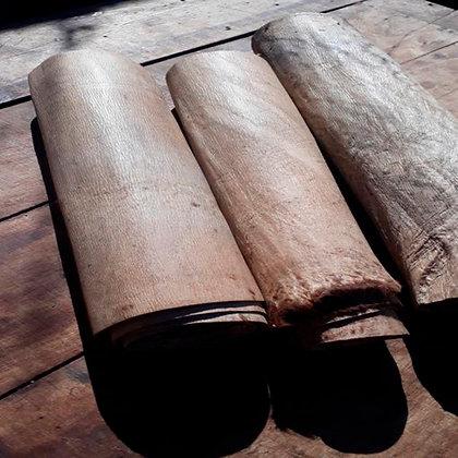 Lonjas de cuero crudo sobado (30x1,50 cm) Guasquería Tradicional Cuyana