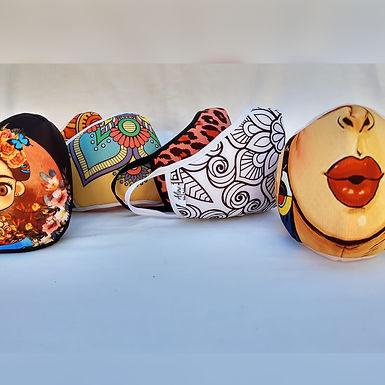 Cubrebocas x 2 u. - Alina Bolsos y Mochilas