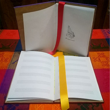 Cuadernos rayados y pentagramados - Septem