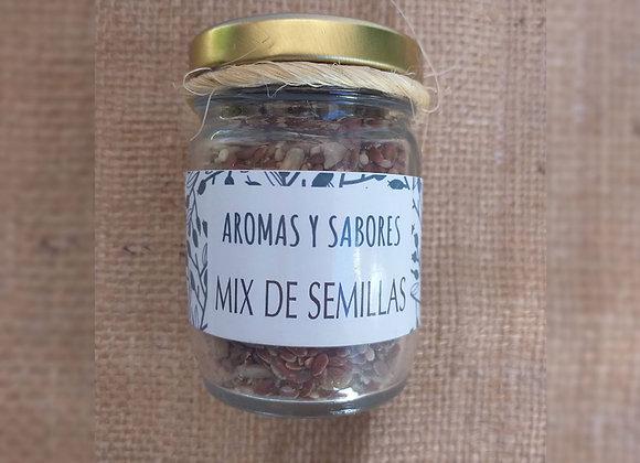 Mix de semillas - amaranto, lino, sésamo, girasol - Aromas y Sabores