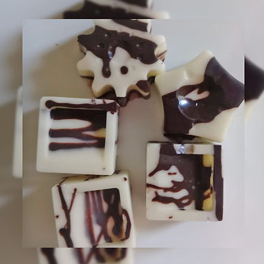 Cuadraditos de chocolate - Ama Chocolate Artesanal