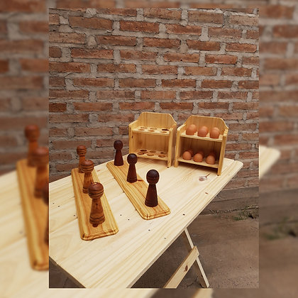 Percheros - Productos en Madera