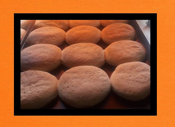 Pan de Hamburguesa x 6 u. - MA.RI.LI.
