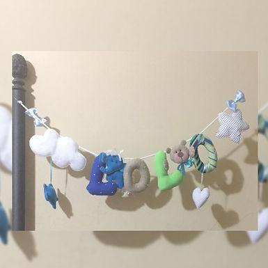 Móviles con letras - Ojitos Picarones
