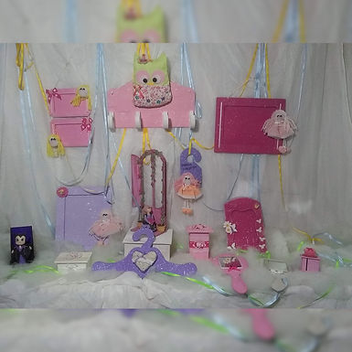Percha corazón - Sofía artesanías