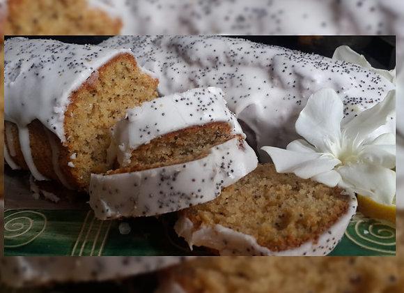Budín de limón y amapolas - MANÁ - Alimento Saludable