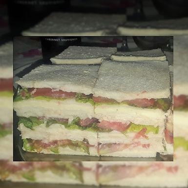 Sandwichs de miga - triples - Sabrosía