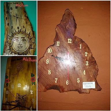 Relojes - Alcilum artesanías