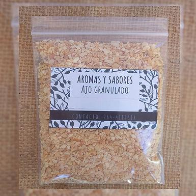 Ajo granulado - Aromas y Sabores