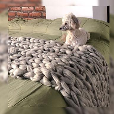 Pie de cama XL - Wool Hugs