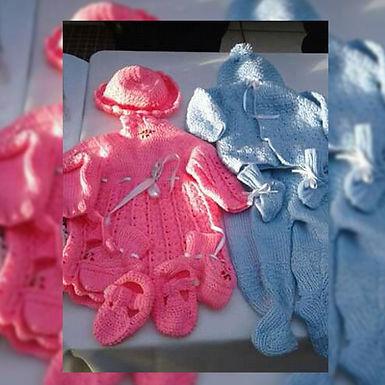 Conjuntos tejidos a corchet - Taller de Piquetitos