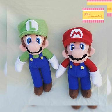 Muñecos de Mario Bros c/u - PinkMandarina