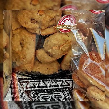 Galletas de avena con manzana - Trozitos Dulces