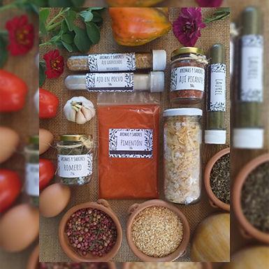 Pimentón Dulce - Aromas y Sabores