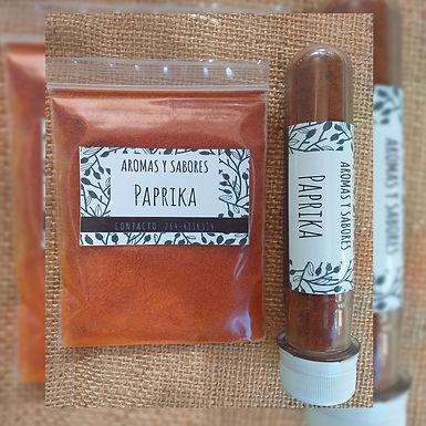 Paprika (pimentón picante) - Aromas y Sabores
